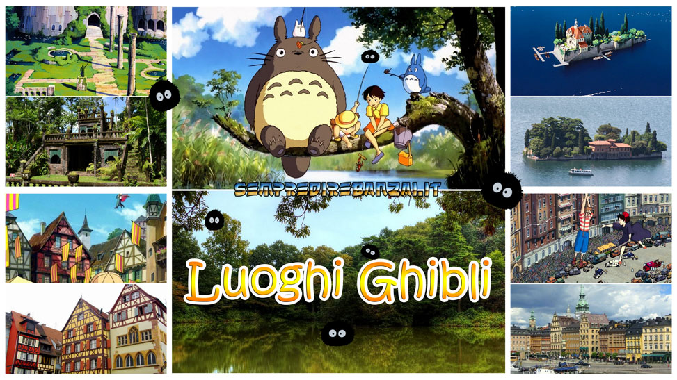 12 luoghi dei film Ghibli che esistono veramente e dove trovarli