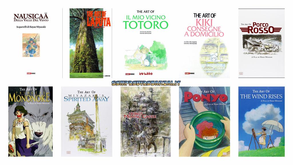 10 Artbook dei film di Hayao Miyazaki tutti da regalare!