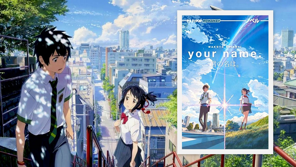 Your Name il romanzo best seller di Shinkai esce in Italia