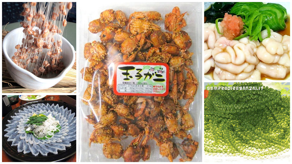 10 cibi davvero strani che si mangiano in Giappone
