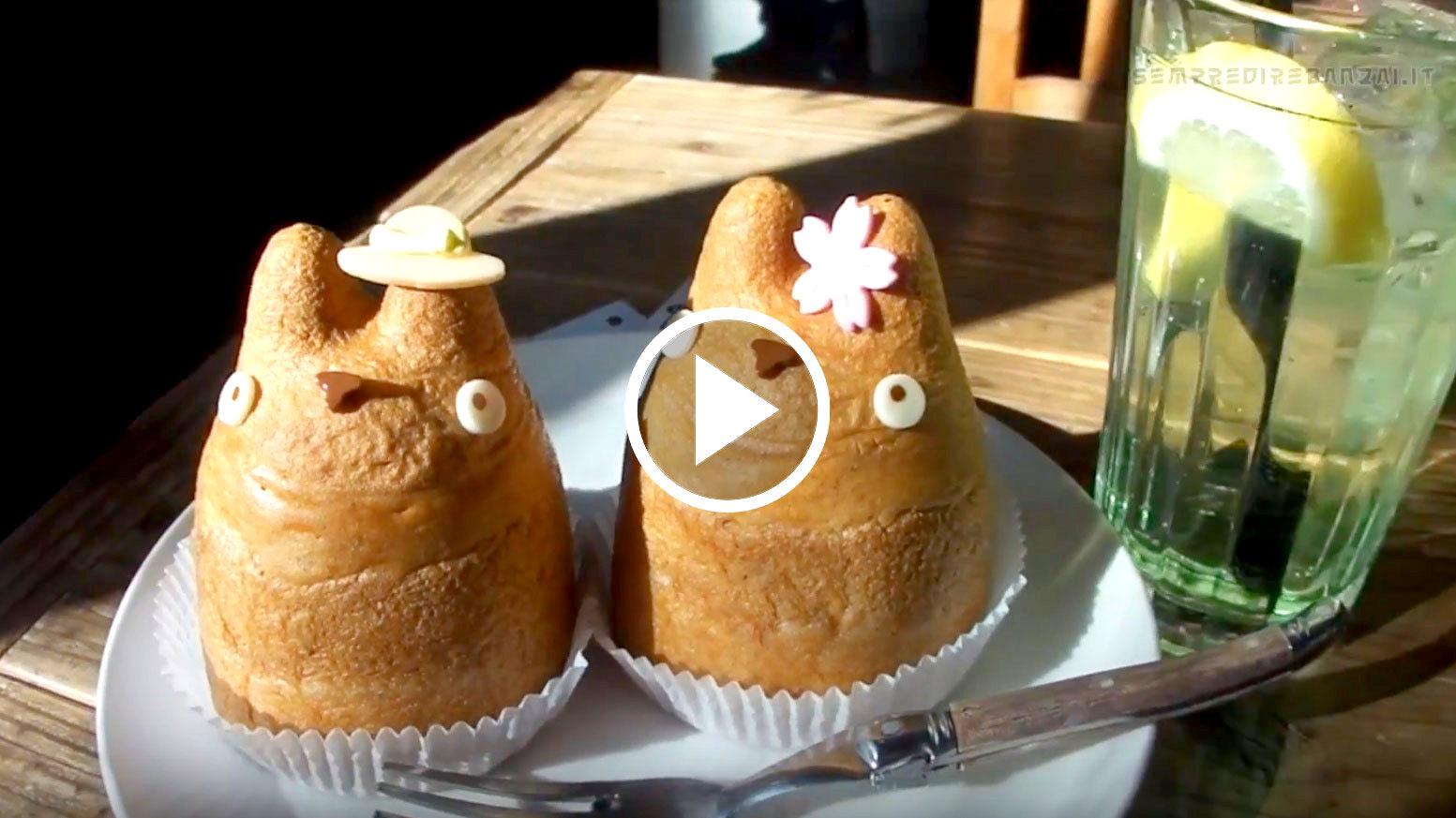 Benvenuti al Totoro Cafe Shiro-Hige di Tokyo Shimokitazawa!