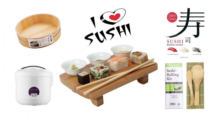 10 idee regalo perfette per il Sushi lover e aspirante itamae