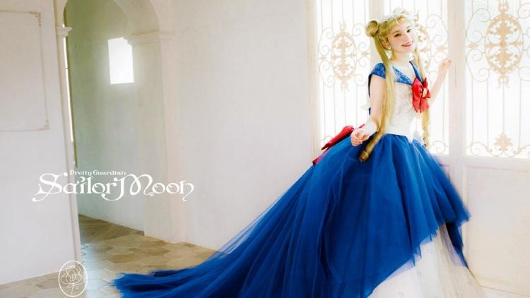 La collezione ufficiale di abiti da sposa di Sailor Moon vi farà dire: lo voglio